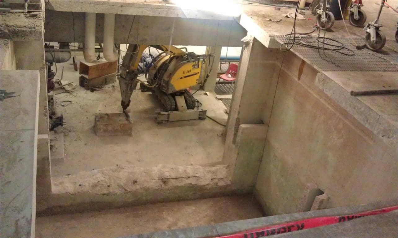 Below Ground Concrete Wall Demolition And Removal