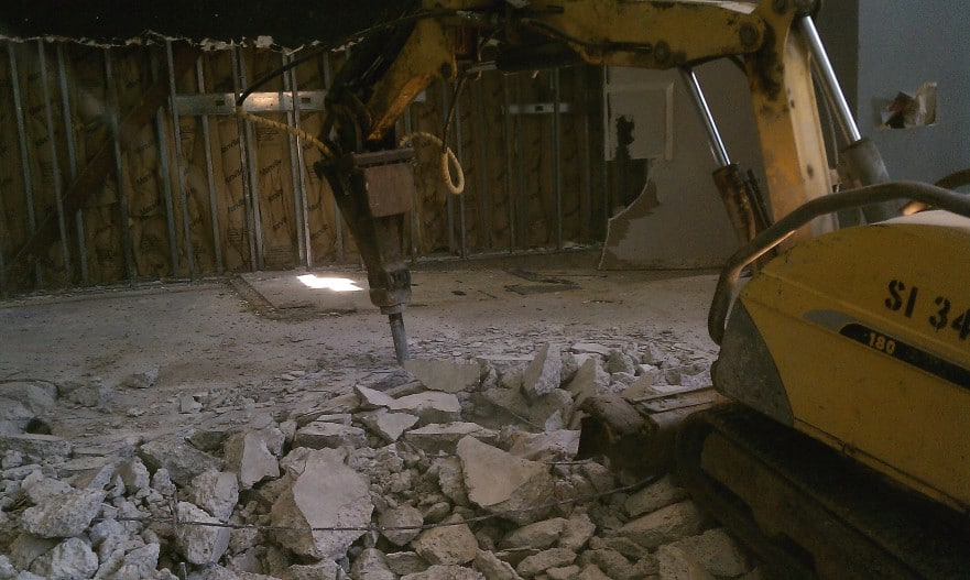 Brokk Robotic Demolition
